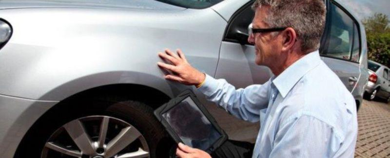 Экспертиза краски автомобиля после дтп
